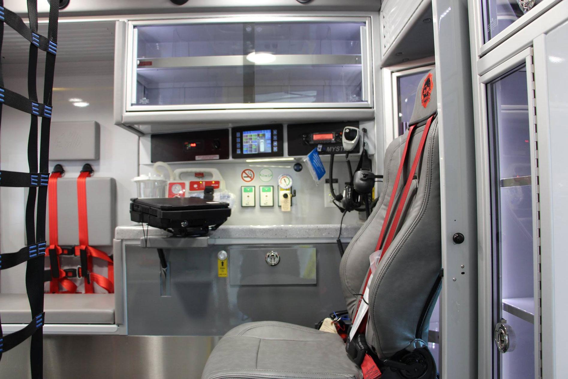 Las Vegas Fire Rescue Demers Ambulances