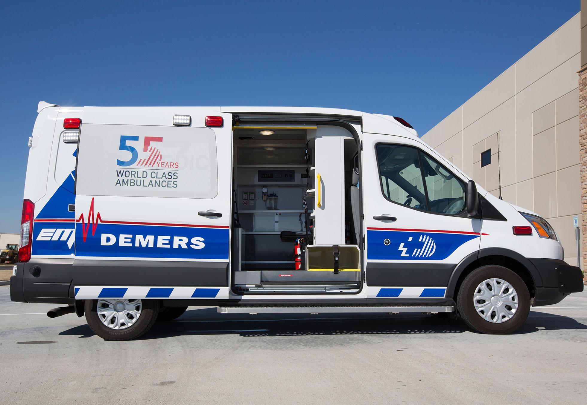 Type 2 Ambulance | Demers Ambulances