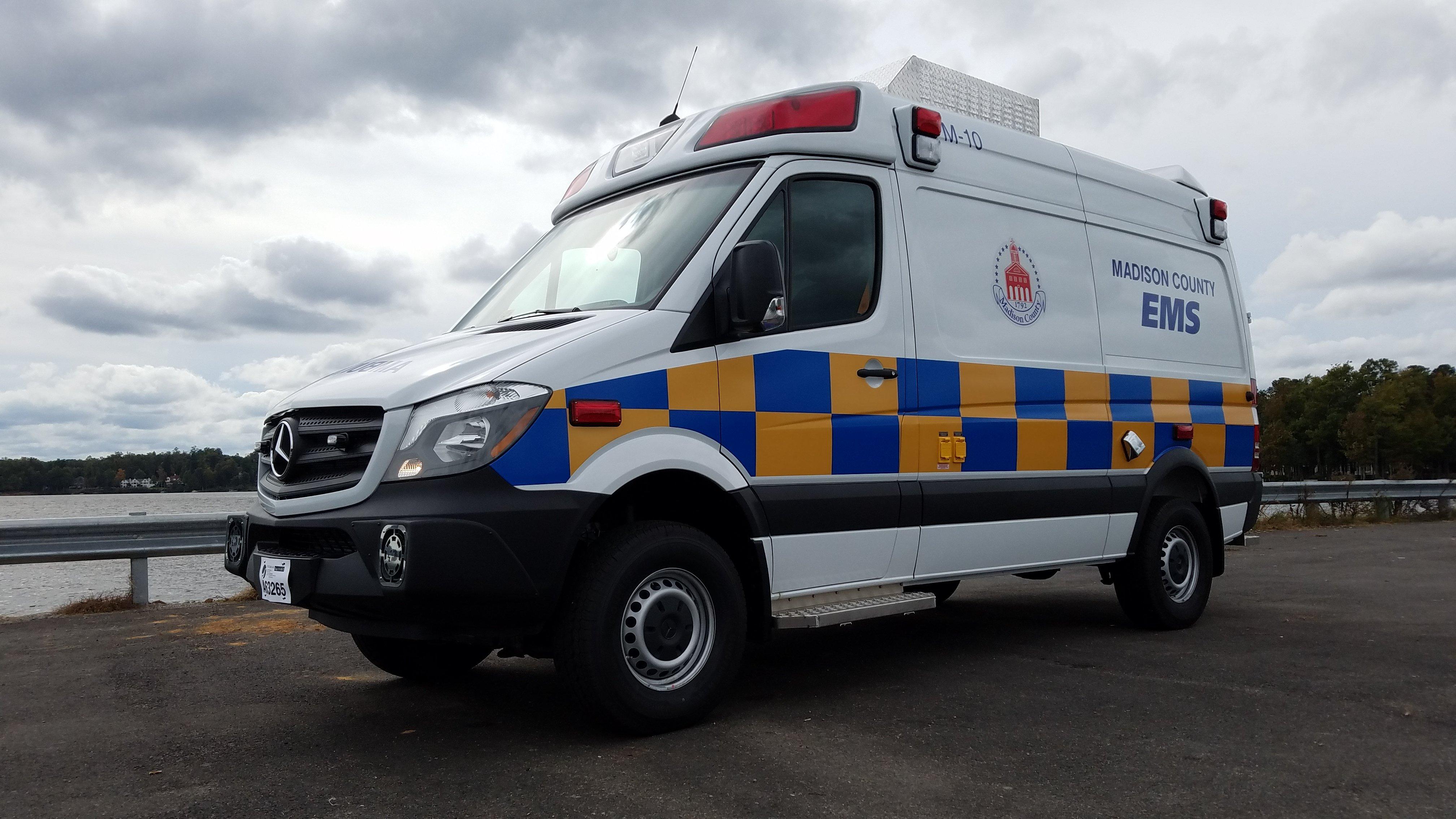 Madison County EMS - Demers Ambulances