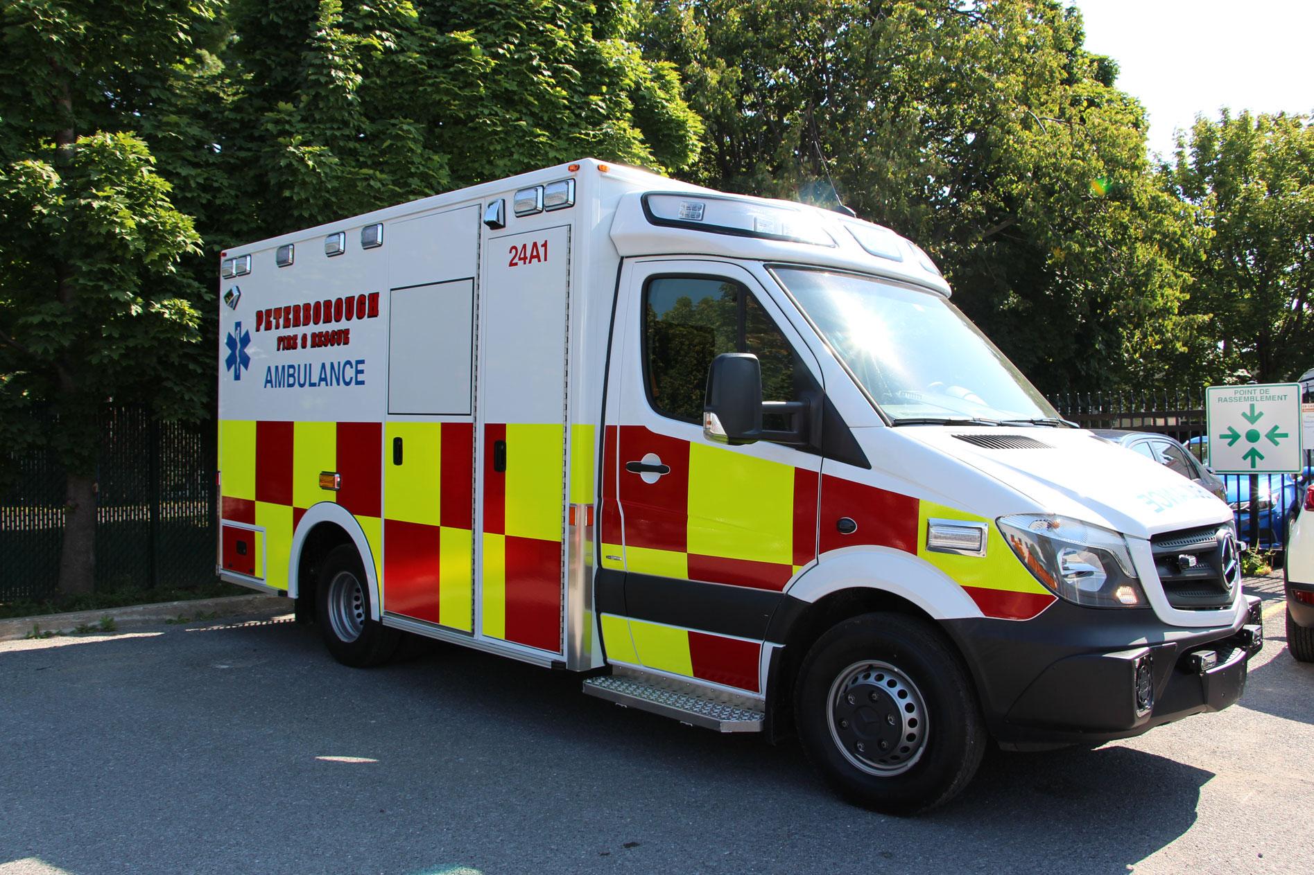 Mercedes Service Cost >> Peterborough Fire & Rescue - Demers Ambulances
