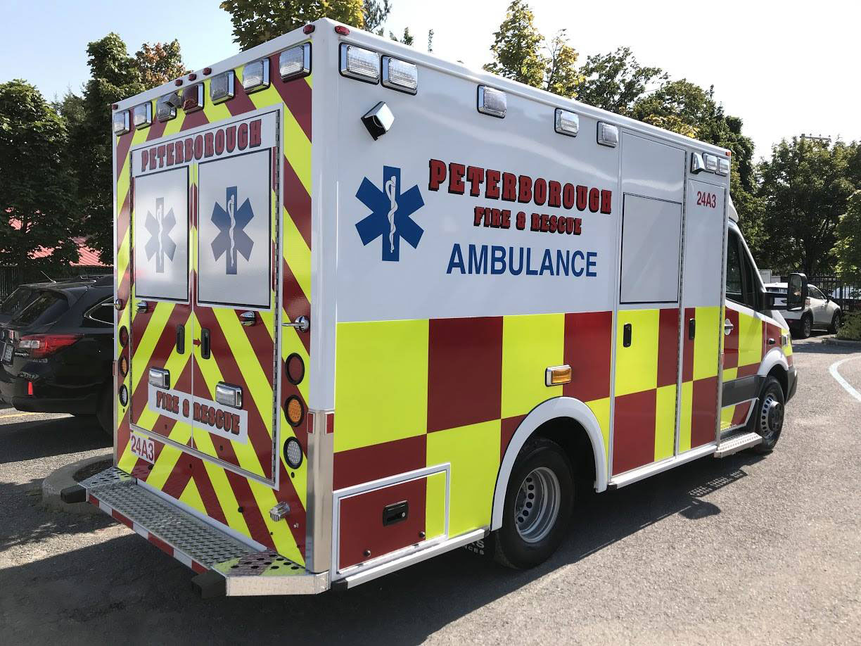 Peterborough Fire Amp Rescue Demers Ambulances