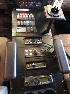 Custom cab console